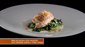 What would you do with cod, kale, coconut oil and pork rinds?