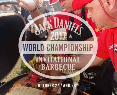 Chef Phillip Dell will be competing at the Jack Daniel's 2017 World Championship Invitational Barbecue