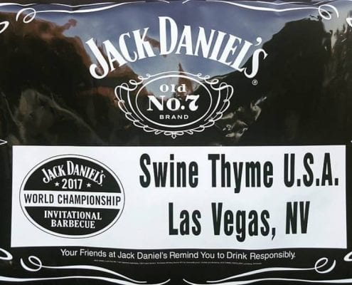 Swine Thyme USA Jack Daniels Barbecue Invitational 2017 awards