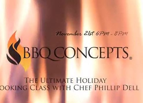 The Ultimate holiday Grilling & Cooking Class
