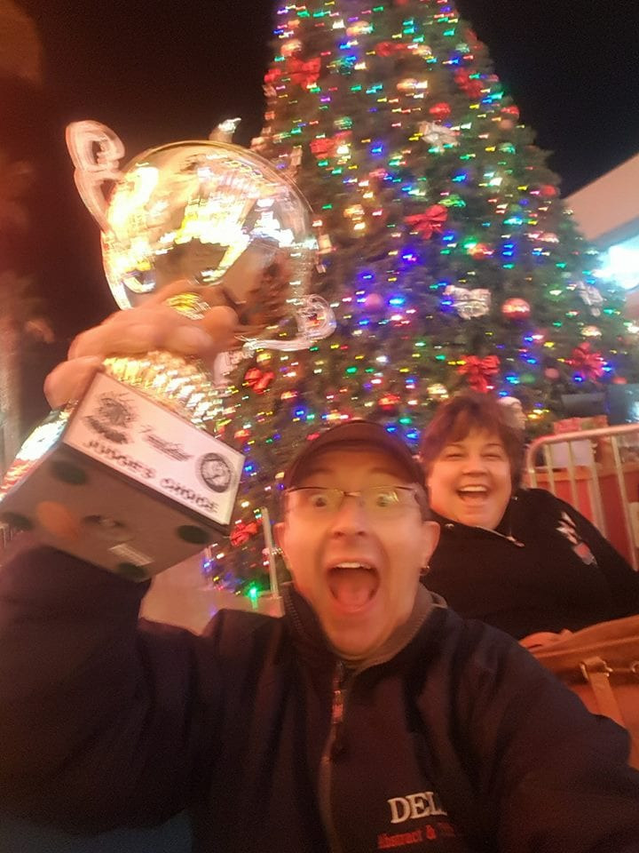 Chef Dell wins the 2017 Downtown Throwdown Peoples Choice